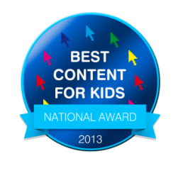 Best Content for Kids National Award 2013