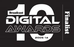 Broadcast Digital Awards Finalist