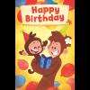 General birthday card yellow